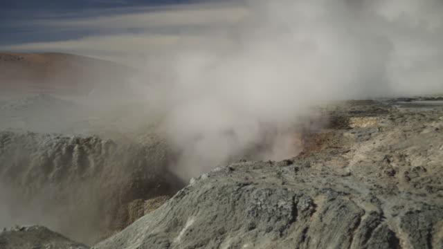 geyser_vulcao - 噴気孔点の映像素材/bロール
