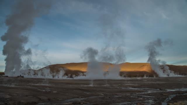 Geyserts del Tatio - Atacama-Wüste - Zeitraffer
