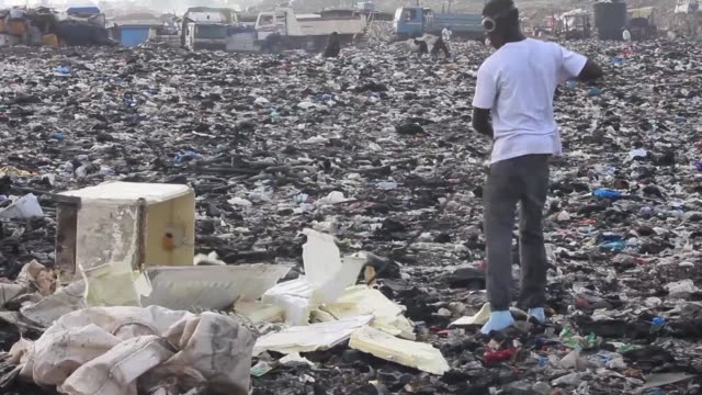 Ghana is said to have the largest informal recycling industry in Africa and imports some 40000 tonnes of e waste annually