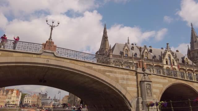 vidéos et rushes de gand, belgique - belgique