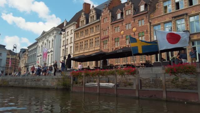 ghent, belgium - local landmark stock videos & royalty-free footage