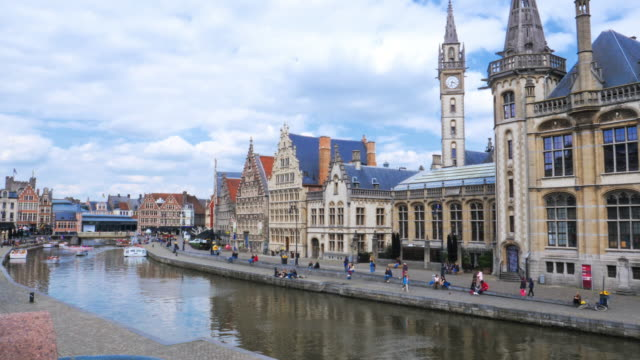 ghent,belgium. - belgium stock videos & royalty-free footage