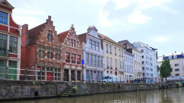 ヘント、ベルギー。 - ベルギー点の映像素材/bロール
