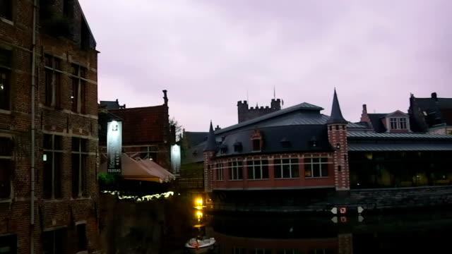 ハンメルフェスト,ベルギー - ベルギー点の映像素材/bロール