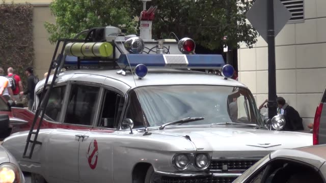 Ghostbusters Car on streets of San Diego Comic Con at Celebrity Sightings ComicCon International 2013 Celebrity Sightings ComicCon International 2013...