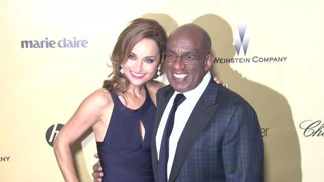 giada de laurentiis, al roker at the weinstein company's 2013 golden globe awards after party on 1/13/13 in beverly hills, ca . - al roker stock videos & royalty-free footage