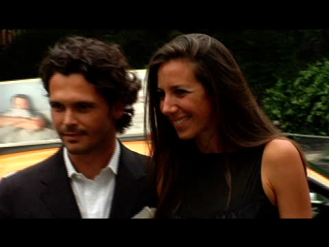 gianpaolo defelice and gabby karan at the fresh air fund salute to american heroes at tavern on the green in new york new york on june 1 2006 - tavern on the green stock videos & royalty-free footage