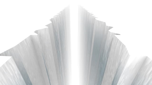 Giant Ice Shelf Dividing