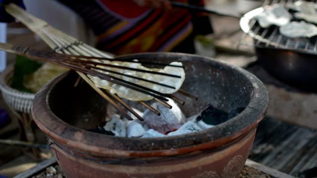 Giant Rice Crispy on stove