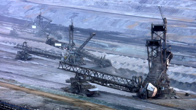 pal: giant surface mine - surface mine stock videos and b-roll footage