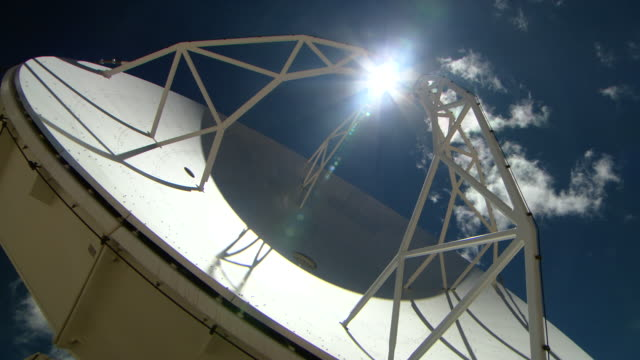 giant telescope - atacama large millimeter array stock videos and b-roll footage