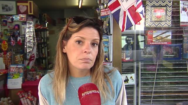 gibraltar's citizens talk about their departure from the european union - gibraltar bildbanksvideor och videomaterial från bakom kulisserna