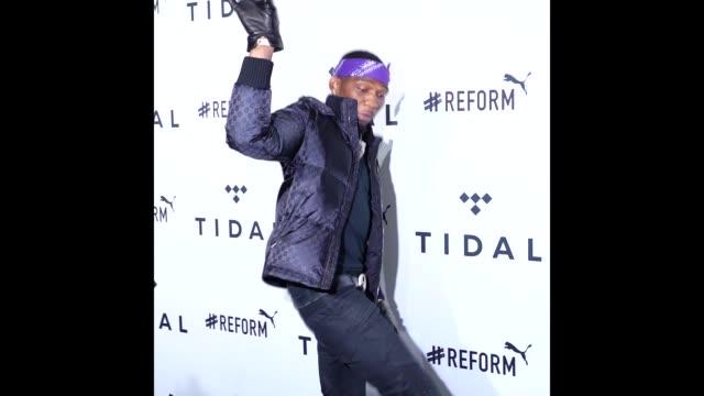 BlocBoy JB at the 4th Annual TIDAL X Brooklyn