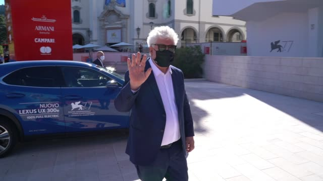 pedro almodóvar at the 77th venice film festival on september 2 2020 in venice italy - gif stock videos & royalty-free footage