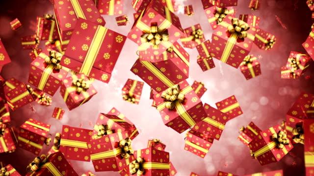 Animation de boîte de cadeau