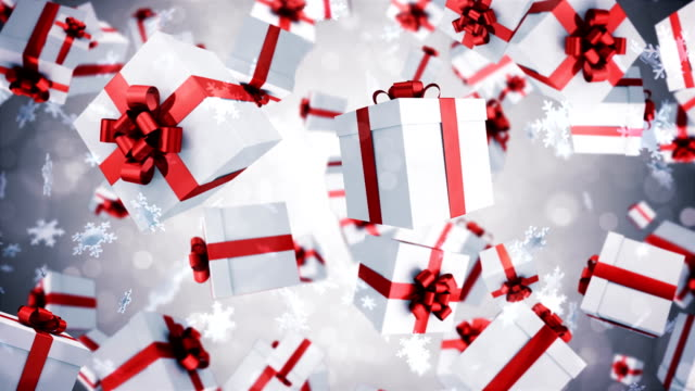 gift box animation - gift stock videos & royalty-free footage