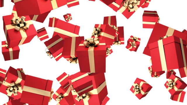 gift box animation - birthday gift stock videos & royalty-free footage