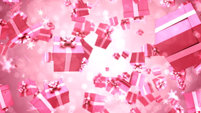 gift box animation - vignette stock videos & royalty-free footage