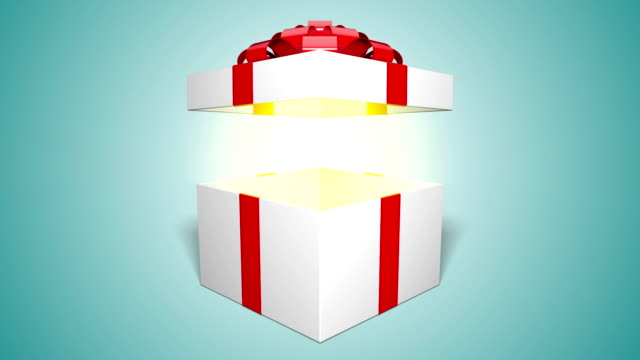 gift box opening - mystery stock videos & royalty-free footage