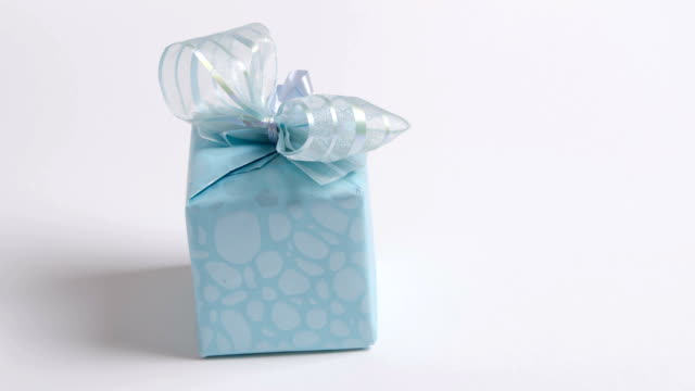 gift box stop motion - gift box stock videos & royalty-free footage