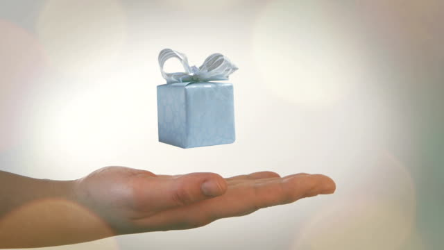 gift box - gift box stock videos & royalty-free footage