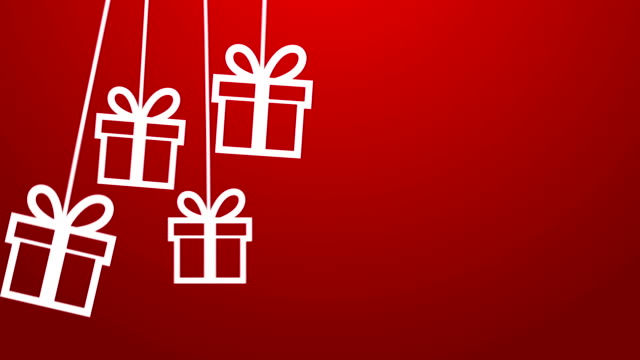 gift hanging on a wire - gift stock videos & royalty-free footage