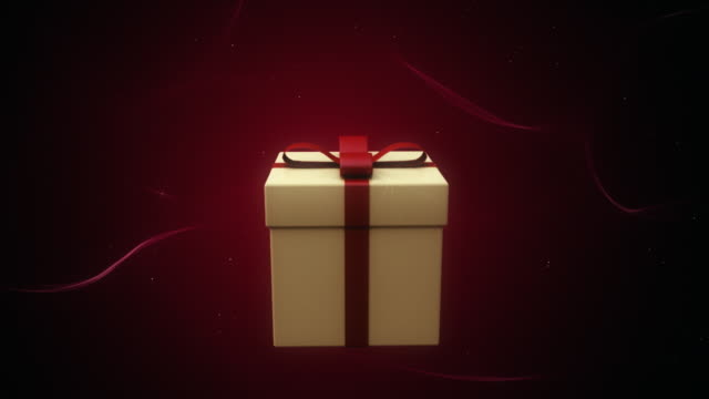 gift. loop - gift box stock videos & royalty-free footage