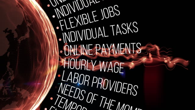 gig economy terms - job search stock videos & royalty-free footage