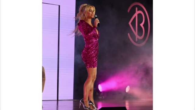 gigi gorgeous speaks on stage at beautycon festival new york 2019 at jacob javits center on april 06 2019 in new york city - day 1 stock videos and b-roll footage