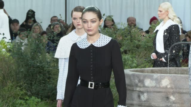 FRA: Paris Fashion Week - Haute Couture Spring/Summer 2020 : Chanel
