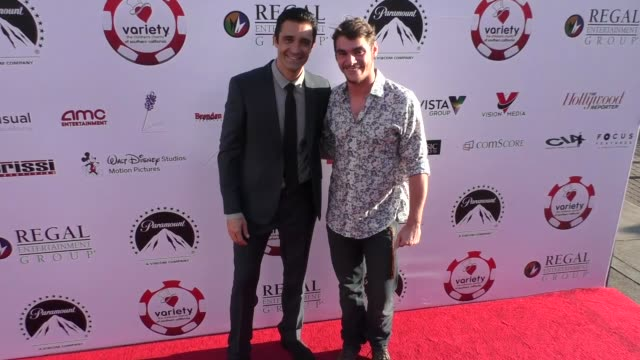 vídeos de stock, filmes e b-roll de gilles marini rj mitte at the 7th annual variety the children's charity of southern california texas hold 'em poker tournament on july 26 2017 in los... - texas hold 'em