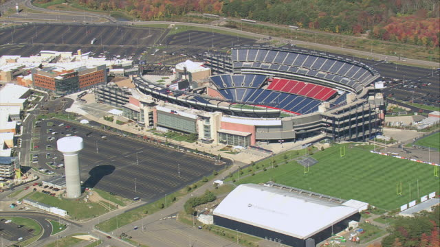 AERIAL Gillette Stadium / Foxborough, Massachusetts, United States