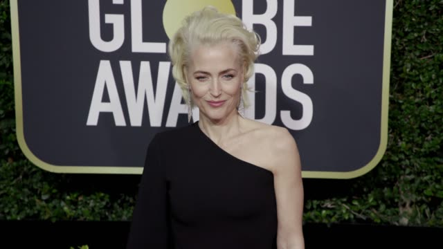 Gillian Anderson at the 75th Annual Golden Globe Awards at The Beverly Hilton Hotel on January 07 2018 in Beverly Hills California
