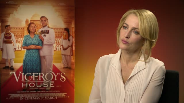 gillian anderson on adapting to the role x files and upcoming plans on february 22 2017 in london england - the x files stock videos & royalty-free footage