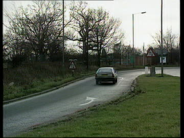 gillian taylforth libel case lost; pc terence talbot along towards and past track l-r to bv herts a1 gv slip road on a1 where alleged offence took... - gillian taylforth stock videos & royalty-free footage
