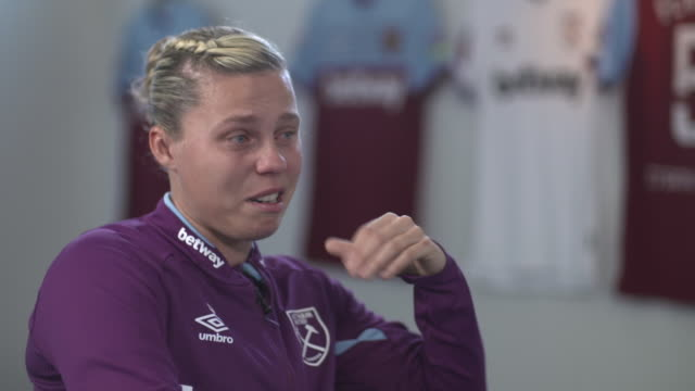 gilly flaherty saying she attempted suicide because she couldn't cope with her mental health issues - football team stock videos & royalty-free footage