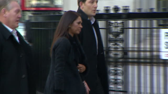 Gina Miller arriving at the Supreme Court for the Brexit parliamentary approval hearing