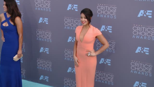Gina Rodriguez at 21st Annual Critics' Choice Awards in Los Angeles CA