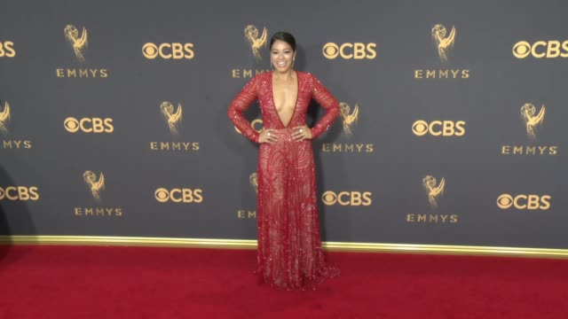 Gina Rodriguez at the 69th Annual Primetime Emmy Awards at Microsoft Theater on September 17 2017 in Los Angeles California