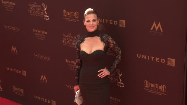Gina Tognoni at 43rd Annual Daytime Emmy Awards at Westin Bonaventure Hotel on May 01 2016 in Los Angeles California