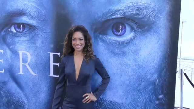 Gina Torres at the 'Game of Thrones' Season 7 Premiere at Walt Disney Concert Hall on July 12 2017 in Los Angeles California