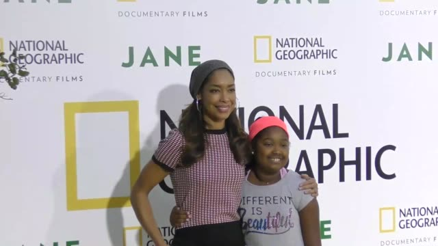 Gina Torres at the Premiere Of National Geographic Documentary Films' 'Jane' at The Hollywood Bowl on October 09 2017 in Los Angeles California