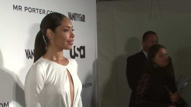 Gina Torres at the Suits and Mr Porter Fashion Show on 6/12/2012 in New York NY United States
