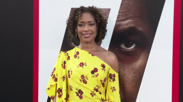 Gina Torres at the 'The Equalizer 2' Premiere at TCL Chinese Theatre on July 17 2018 in Hollywood California