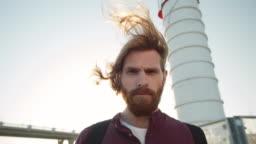 Ginger Man near Lighthouse
