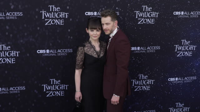 "ginnifer goodwin and josh dallas at the premiere of ""the twilight zone' at the harmony gold preview house and theater on march 26, 2019 in hollywood,... - harmony gold preview theatre stock videos & royalty-free footage"