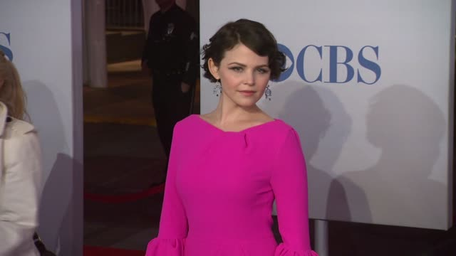 ginnifer goodwin at 2012 people's choice awards - arrivals on 1/11/12 in los angeles, ca. - people's choice awards stock videos & royalty-free footage