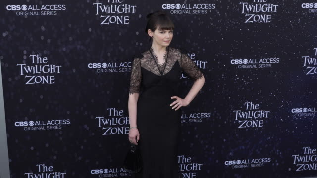 "ginnifer goodwin at the premiere of ""the twilight zone' at the harmony gold preview house and theater on march 26, 2019 in hollywood, california. - harmony gold preview theatre stock videos & royalty-free footage"