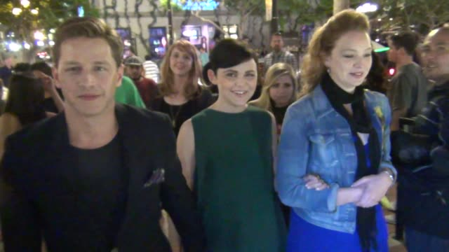 Ginnifer Goodwin talks about Comic Con and superheros on streets of San Diego Comic Con at Celebrity Sightings ComicCon International 2013 Celebrity...