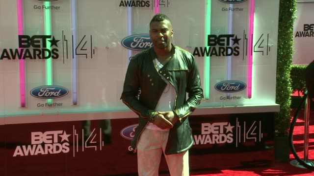 Ginuwine at the 2014 BET Awards on June 29 2014 in Los Angeles California
